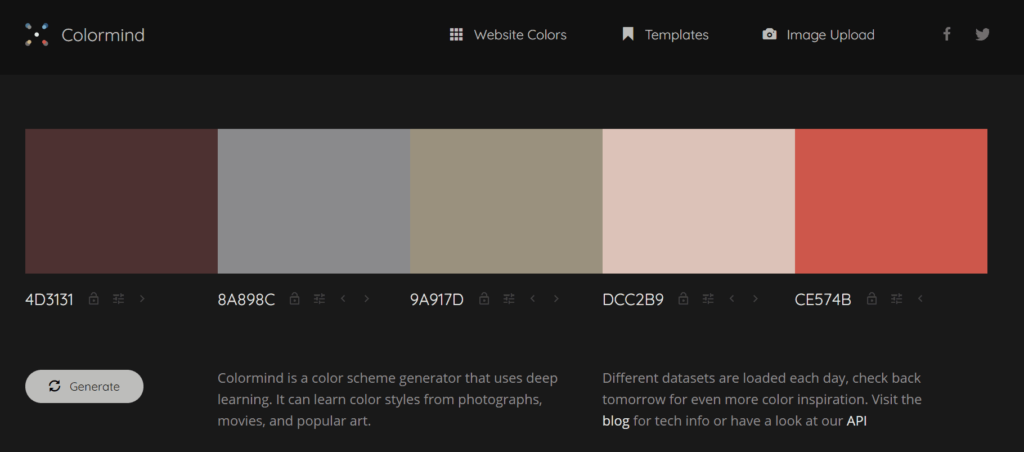 blog color scheme