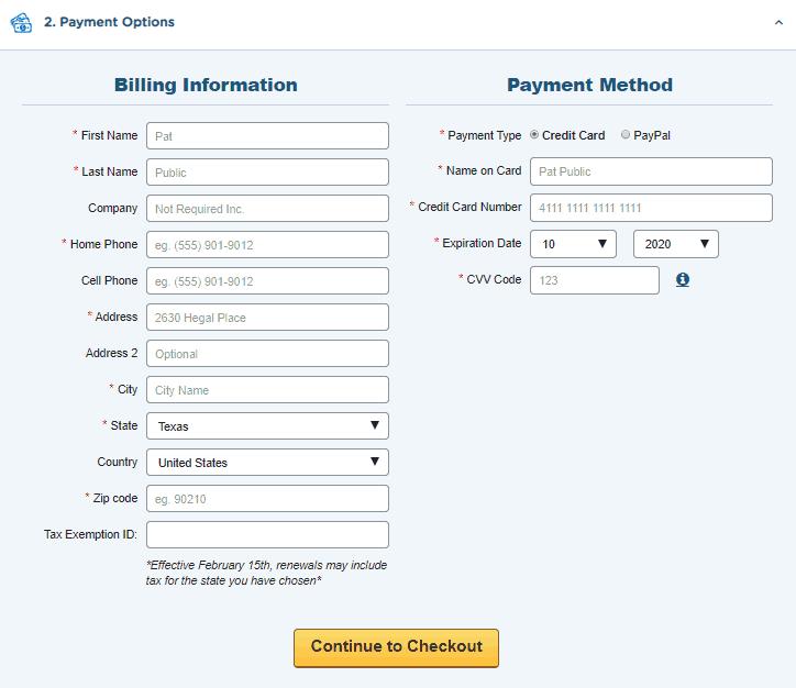hostgator domain search screenshot step 9
