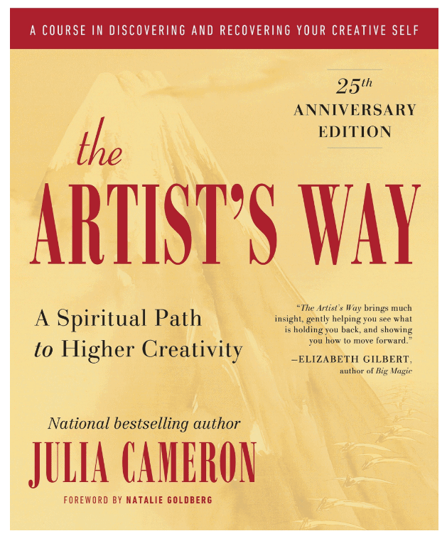 Photo of the cover of Artists way by julia cameron