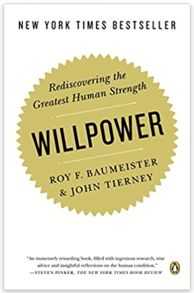 Picture of the book Will Power