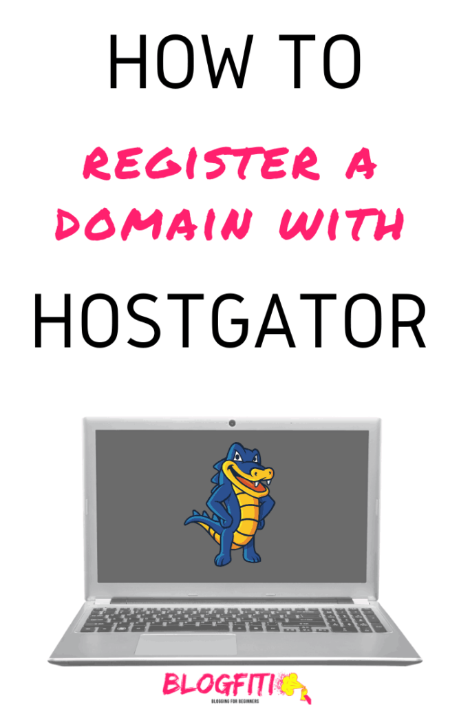 how to register a domain with hostgator pin