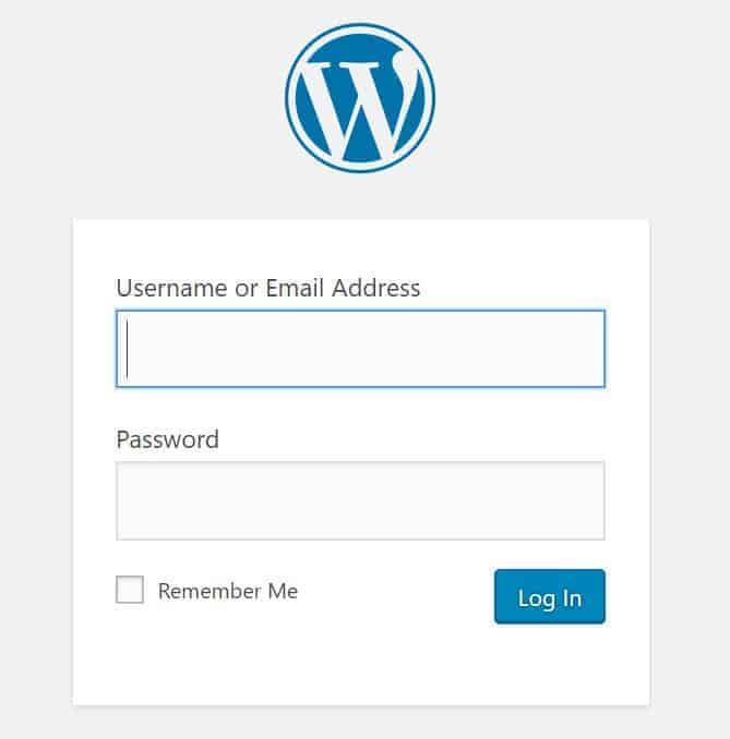 how to start a blog with wordpress wordpress login