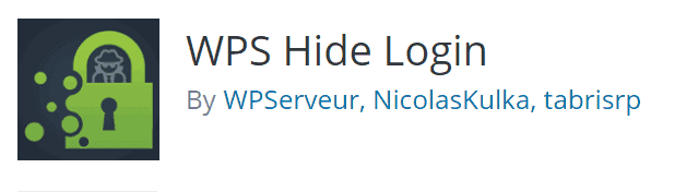 WPS Hide Login Screenshot