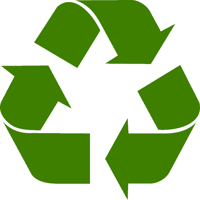 illustration of the recycle symbol