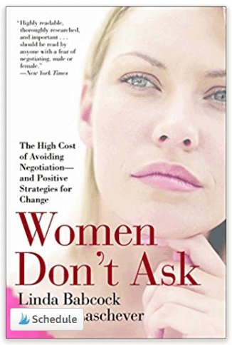 women dont ask books for bloggers