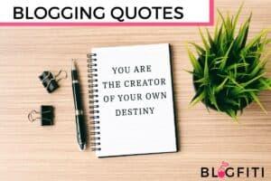 blogging QUOTES featured image