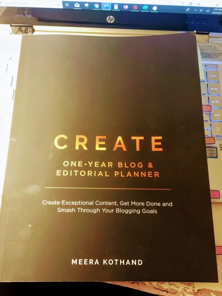 blogging as a career create blogging planner