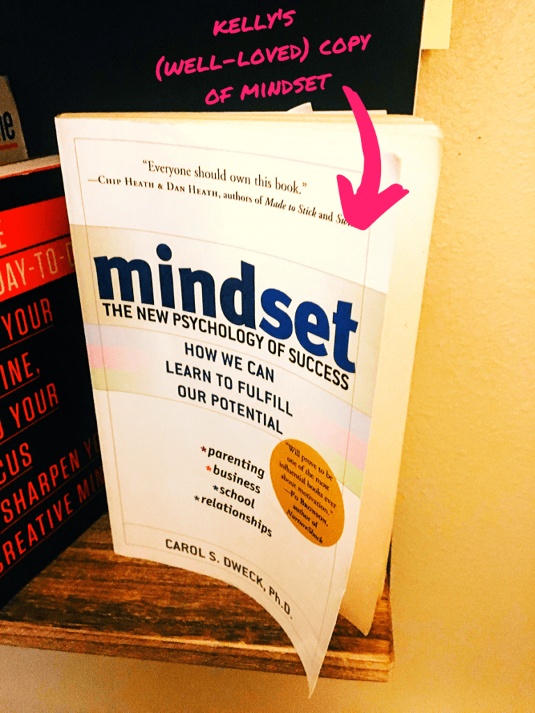 blogging as a career photo of mindset by carol s. dweck