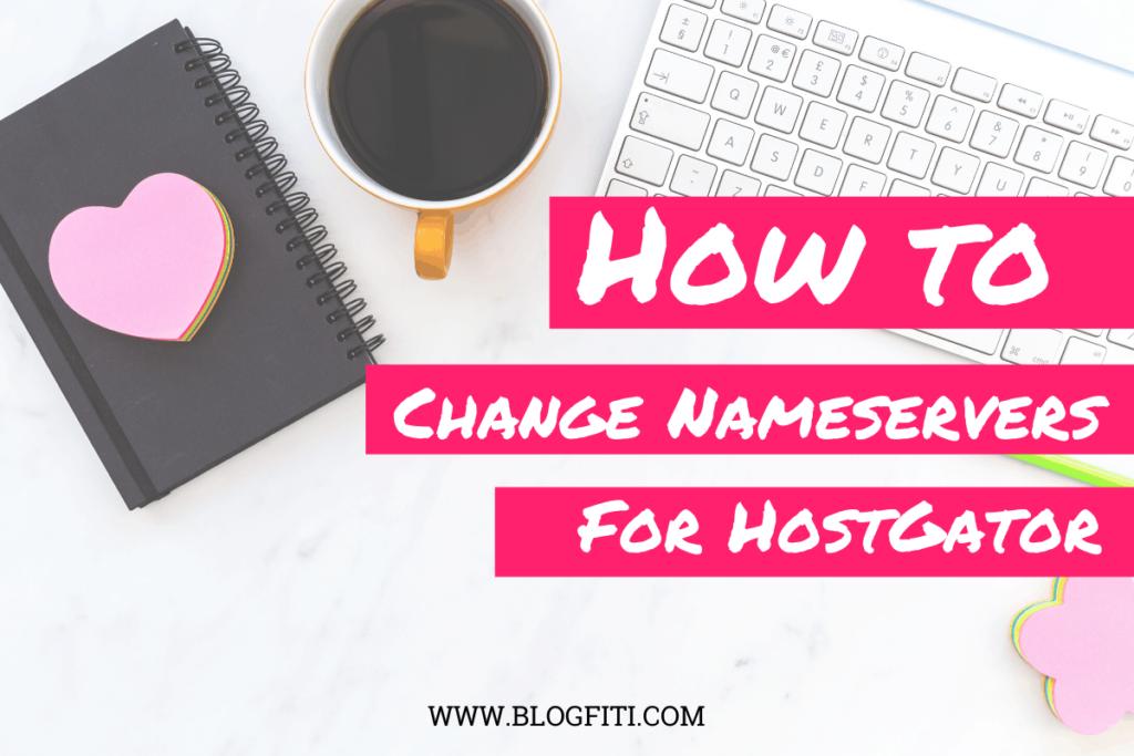 Nameservers for HostGator