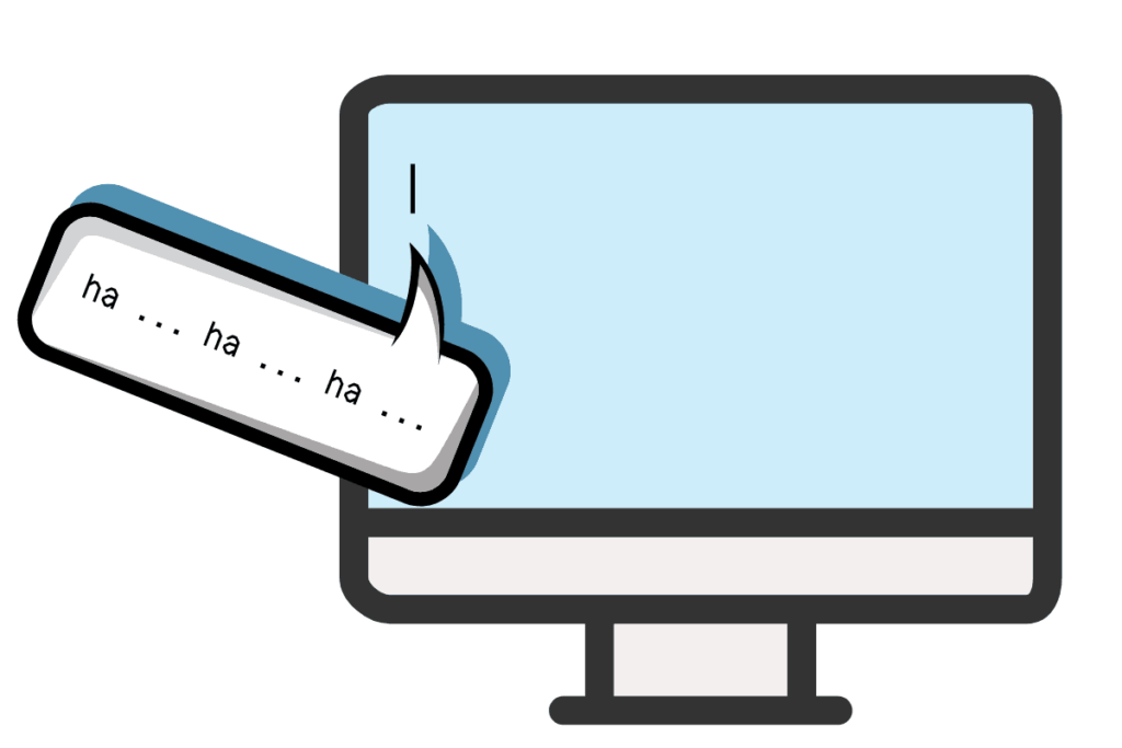 writers block cures computer laughing