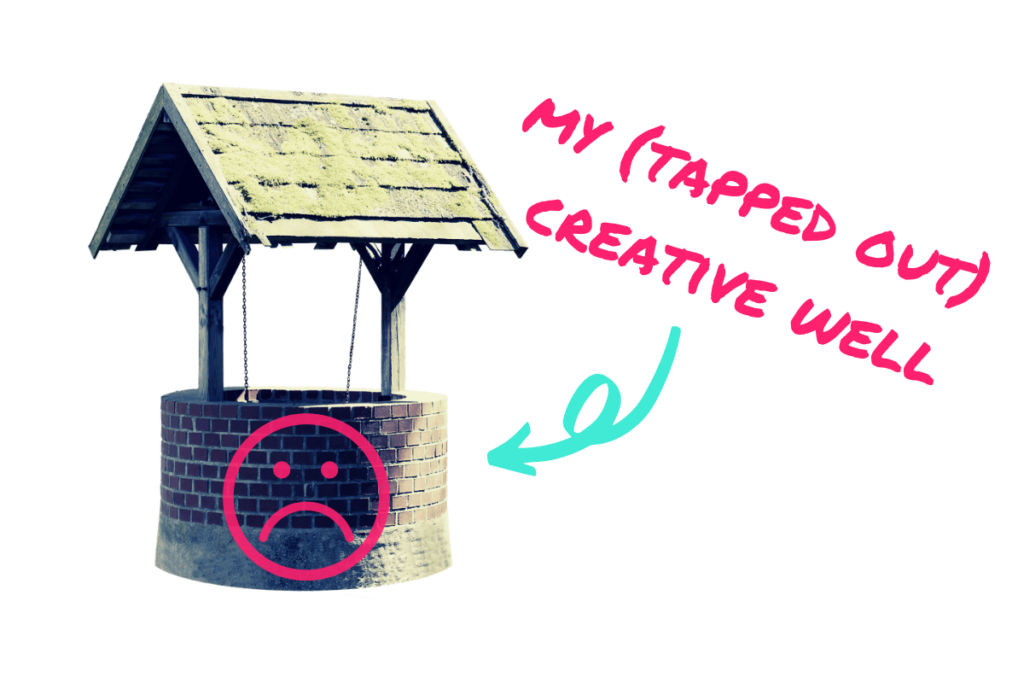 writers block cures tapped out creative well
