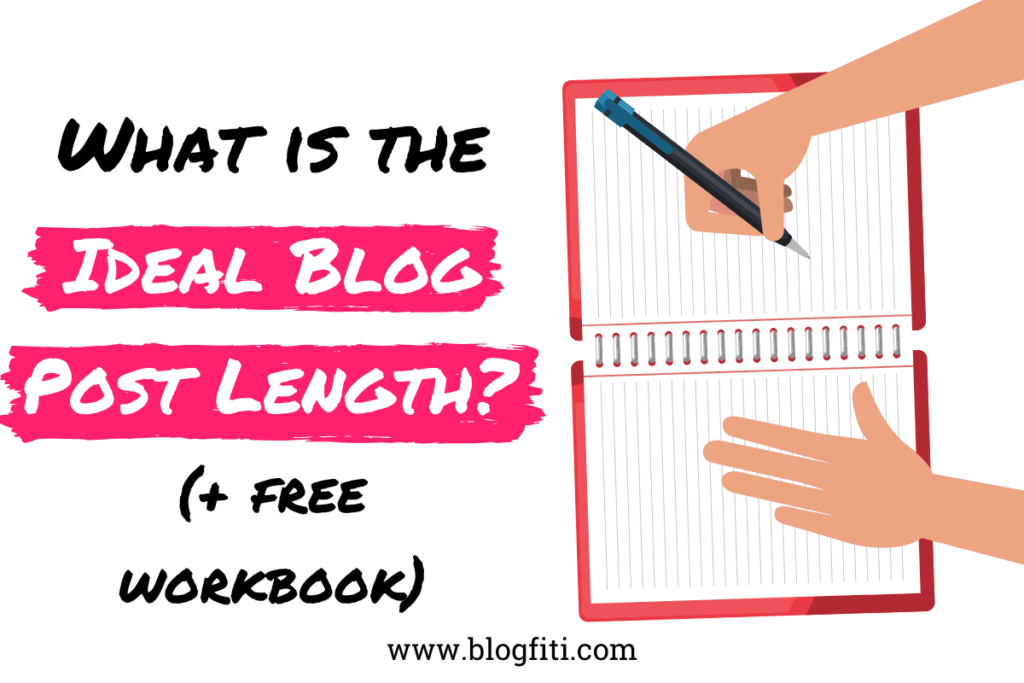 ideal blog post length featured image