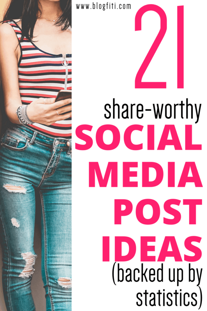 social media post ideas