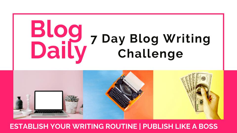 blog writing process Blog Daily Teachable Thumbnail